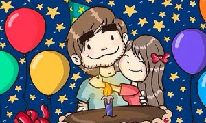 Feliz cumpleaños mi niño