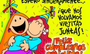 Cumpleaños de mi amiga